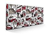 SUENOSZZZ-ESPECIALISTAS DEL DESCANSO Cabecero tapizado para Camas de 90 (100 x 57 cm) en Tela Motivo Estampado...